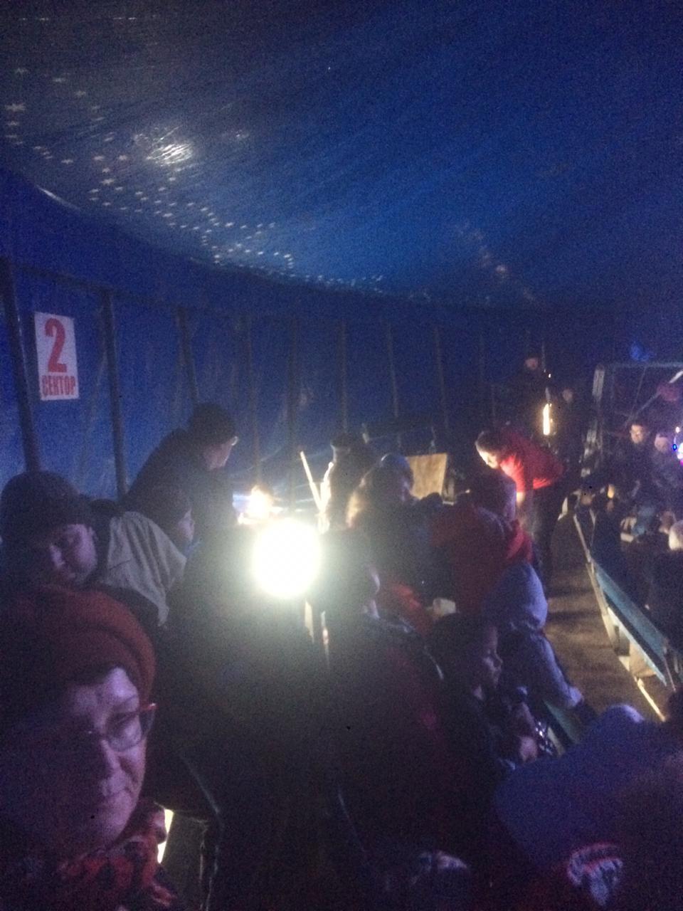 Трибуна цирка обрушились вИркутской области, есть пострадавшие— фото
