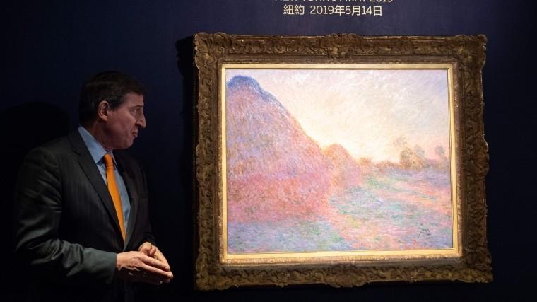 Картину Моне продали нааукционе зарекордные $110,7 миллионов— видео