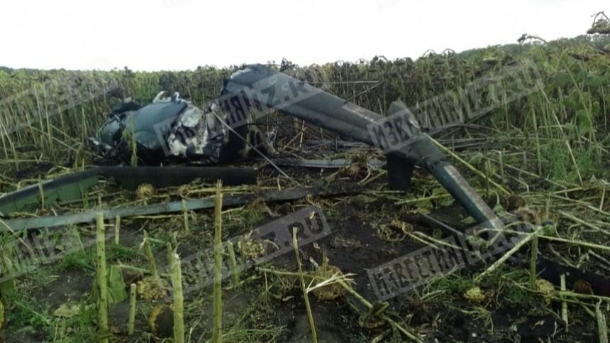 5-tv.ru публикует эксклюзивные фото сместа крушения вертолета Ми-2 вКраснодарском крае