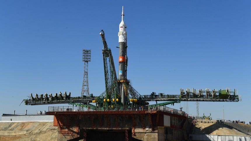 Видео: «Союз-ФГ» готовится кисторическому последнему полету