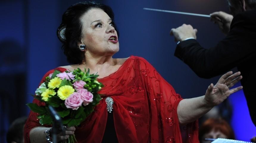 Оперную певицу Богачеву проводили впоследний путь вПетербурге