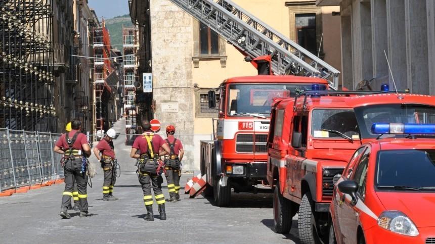 Вцентре Турина загорелся входящий всписок ЮНЕСКО комплекс XVII века