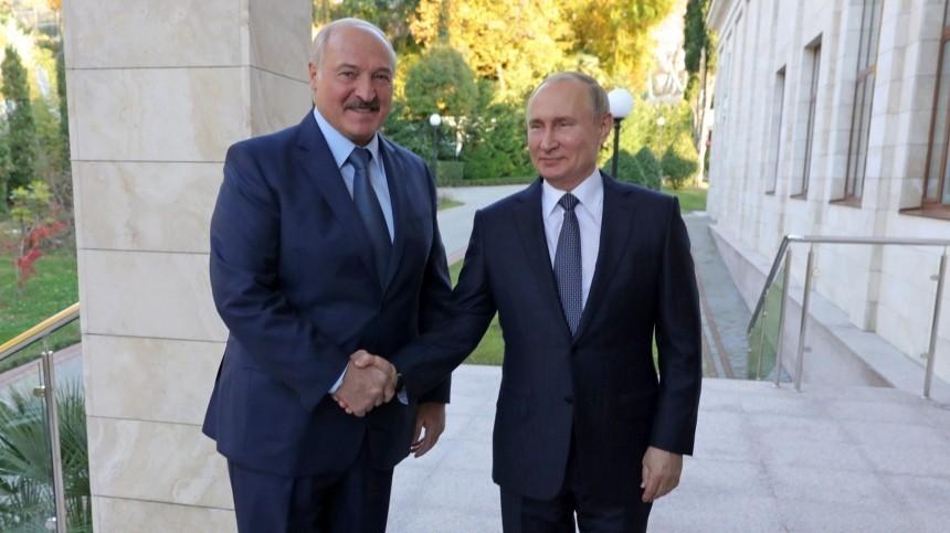 Стало известно меню обеда Путина иЛукашенко вСочи