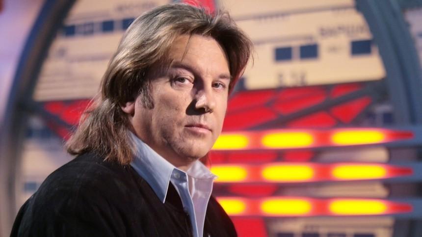 Юрий Лоза на съемках программы «По волне моей памяти»
