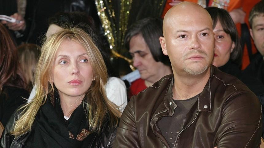 Светлана и Федор Бондарчук во время ежесезонного праздника Fashion Day в ТЦ «Крокус Сити Молл»