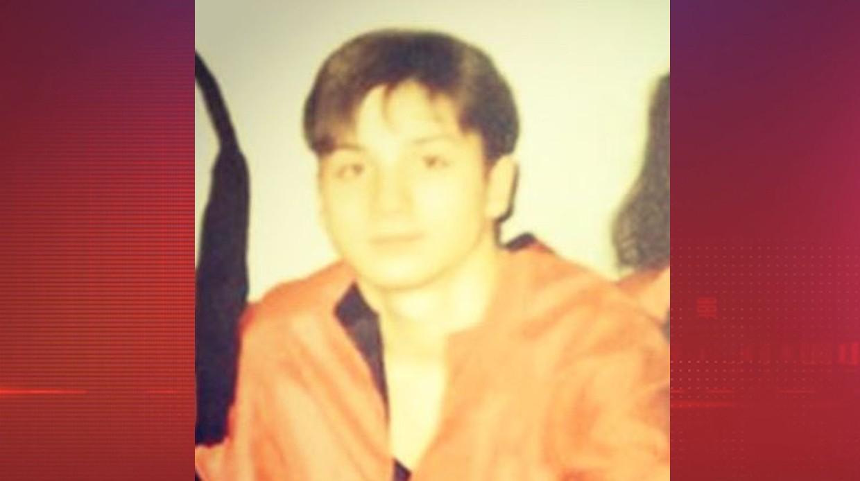Певец Сергей Лазарев в 18 лет.