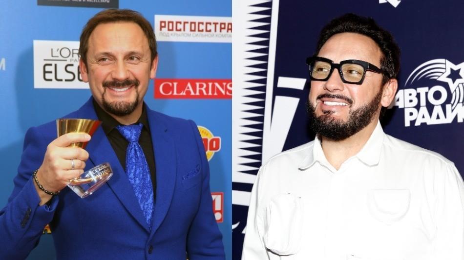 Слева направо: Стас Михайлов в 2015-м и 2019-м