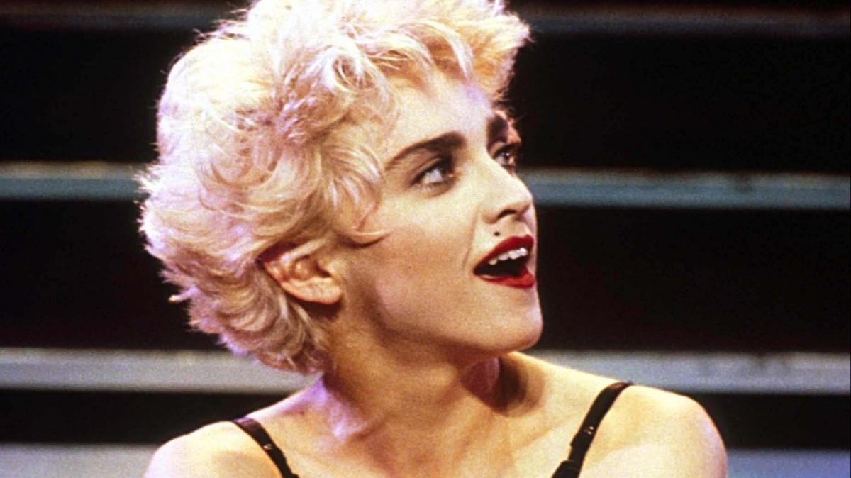 Певица Мадонна в 1987-м
