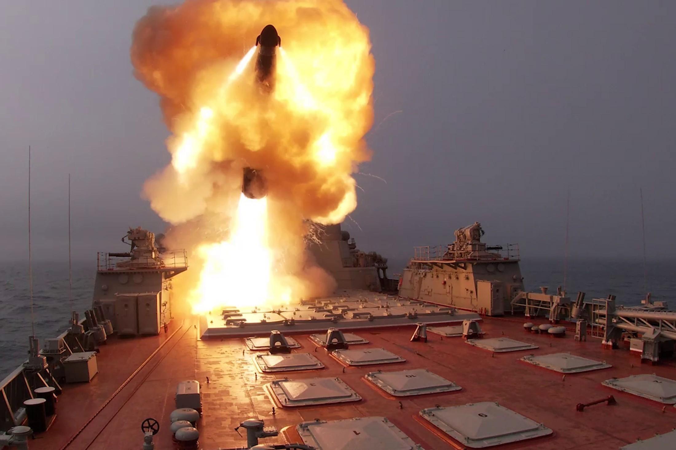 Грозное оружие: в США составили ТОП-5 мощнейших боевых кораблей России