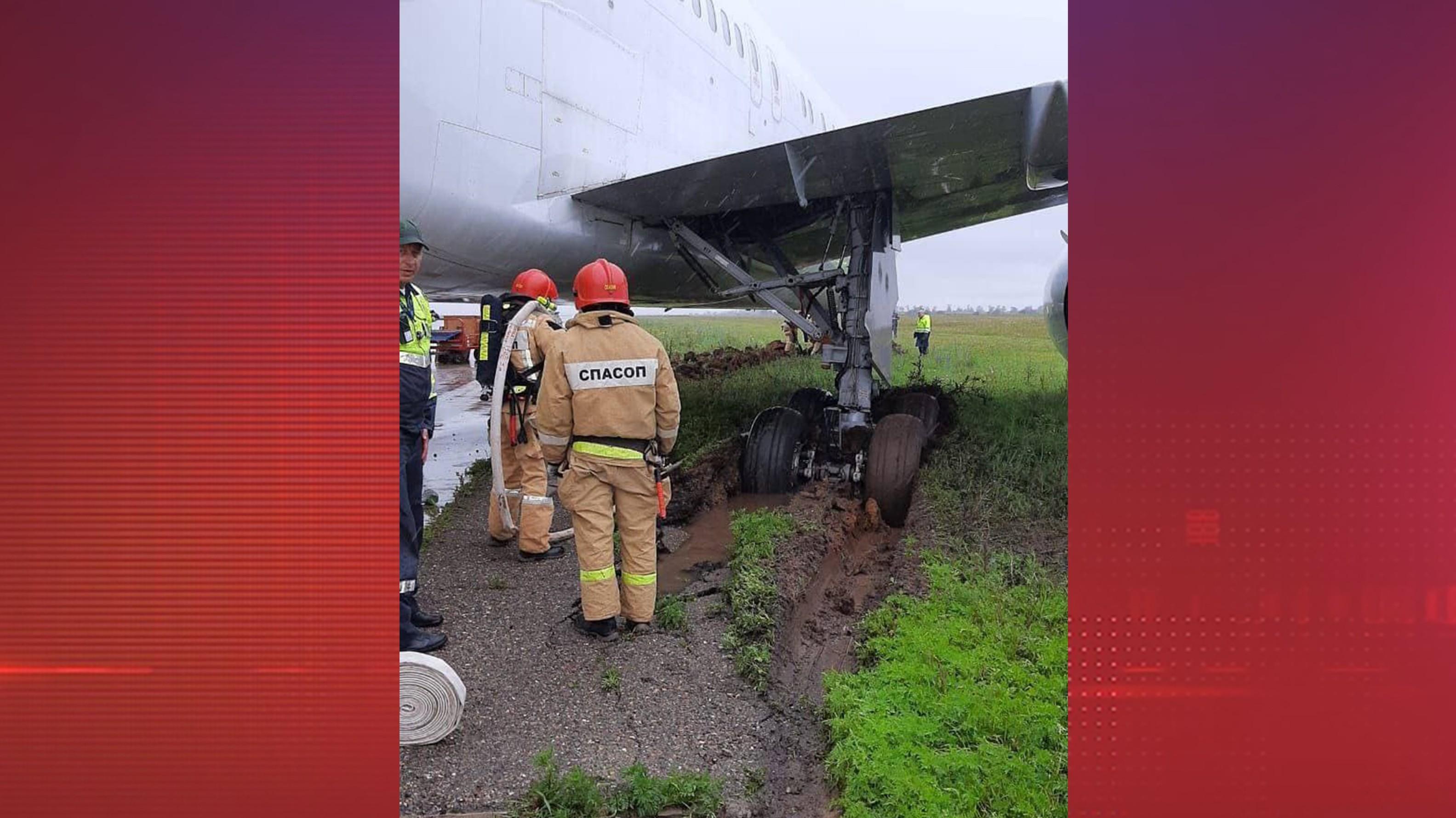 Аэропорт Симферополя возобновил работу после инцидента с Boeing-767