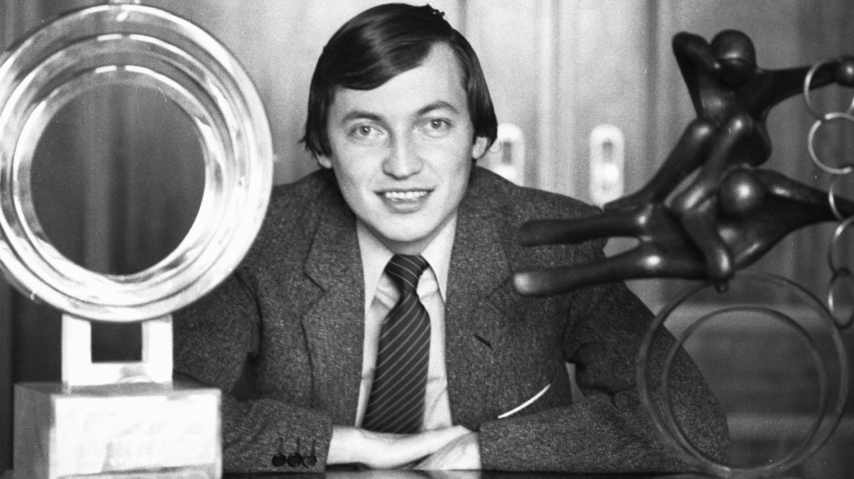 Анатолий Карпов в 1981-м