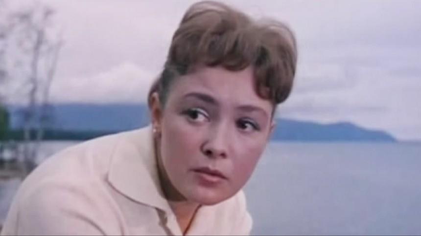 "Актриса Любовь Стриженова в к/ф ""Приезжай на Байкал"", 1965-й."