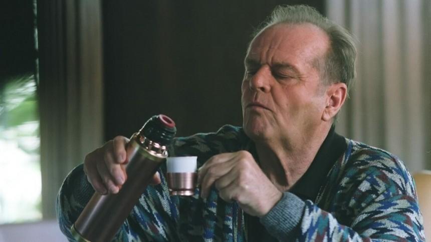 """Актер Джек Николсон в роли Эдварда в к/ф """"Пока не сыграл в ящик"""", 2007-й"""