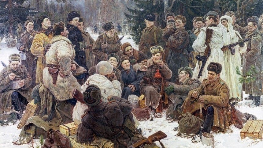 Василий Теркин отмечает юбилей: как литературный персонаж стал другом каждого солдата