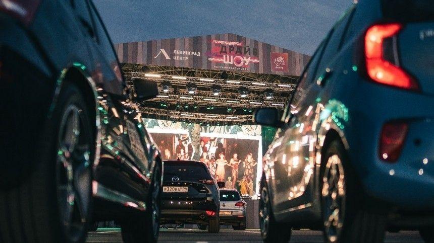 Шоу первого автотеатра вРоссии показали вгоночном комплексе «Игора Драйв»
