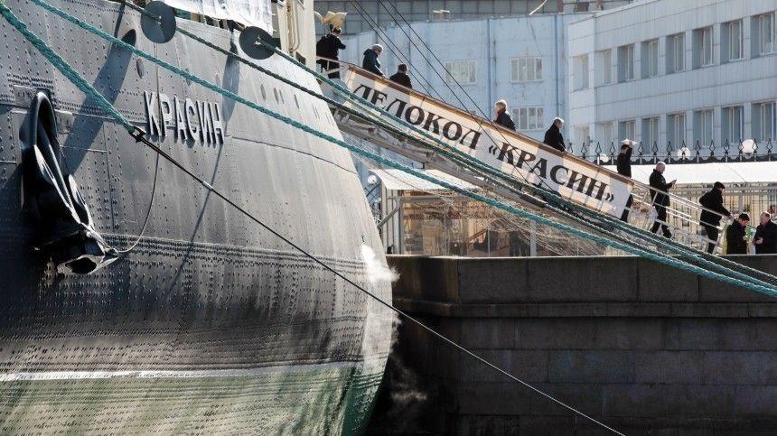 Вальс буксиров вНеве отрыл VII Фестиваль ледоколов вСанкт-Петербурге— видео