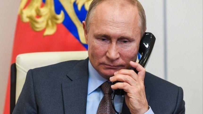 Эрдоган иПутин обсудили потелефону ситуацию вКарабахе, Ливии иСирии
