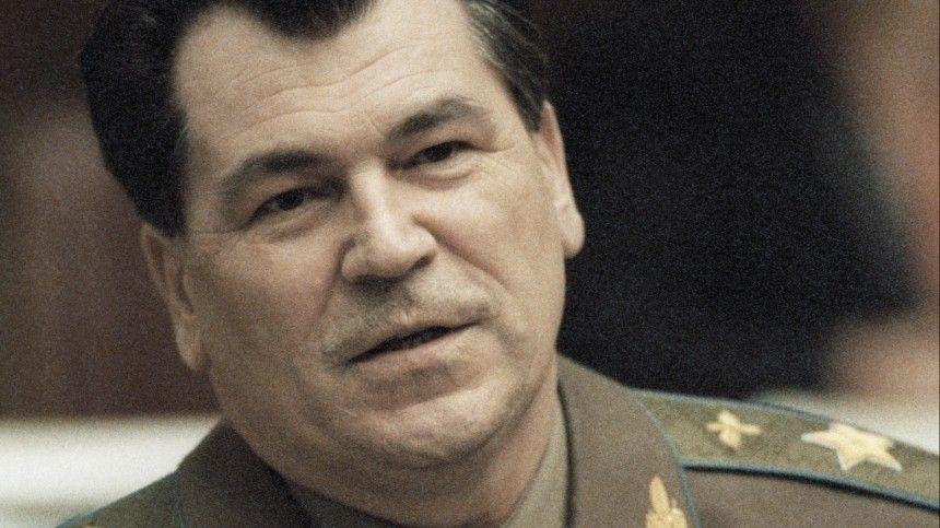 Названа причина смерти последнего министра обороны СССР Шапошникова