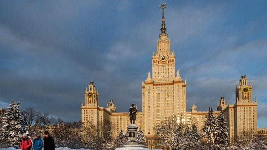 Путин назвал сроки запуска объектов технологической долины МГУ