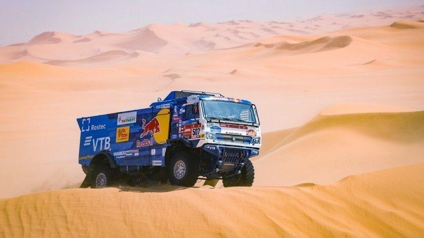 Сотников победил в четвертом этапе ралли Дакар в зачете грузовиков