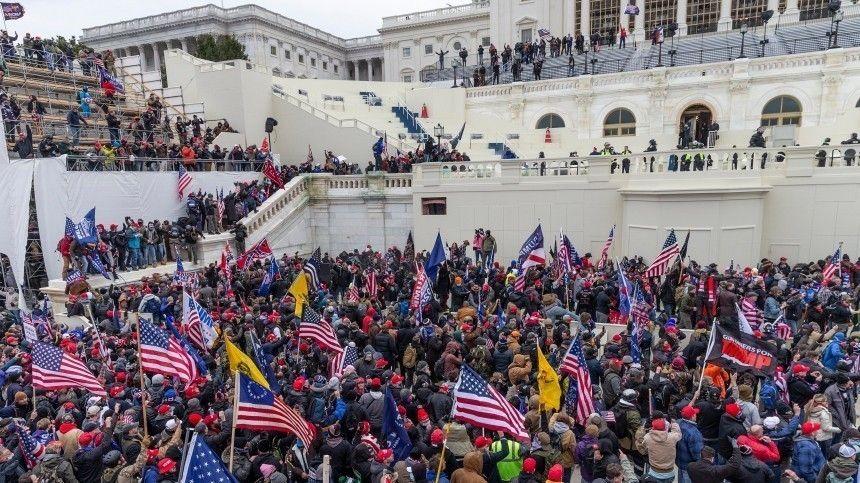 В США заявили о русскоязычном задержанном при штурме Капитолия