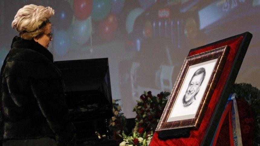 Первые кадры сместа прощания соснователем «Ералаша» Борисом Грачевским