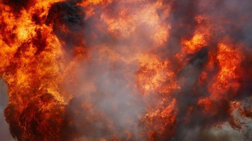 Видео момента взрыва газа на рынке в Краснодаре, где один человек погиб