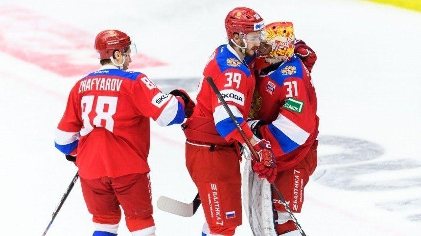 Российские хоккеисты установили рекорд, одержав семь побед подряд на Евротуре