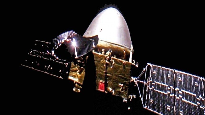 Китайский зонд «Тяньвэнь-1» отправил на Землю первое видео с орбиты…