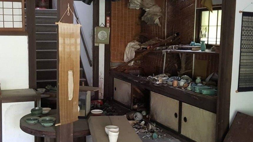 Число пострадавших из-за землетрясения в Японии превысило  …