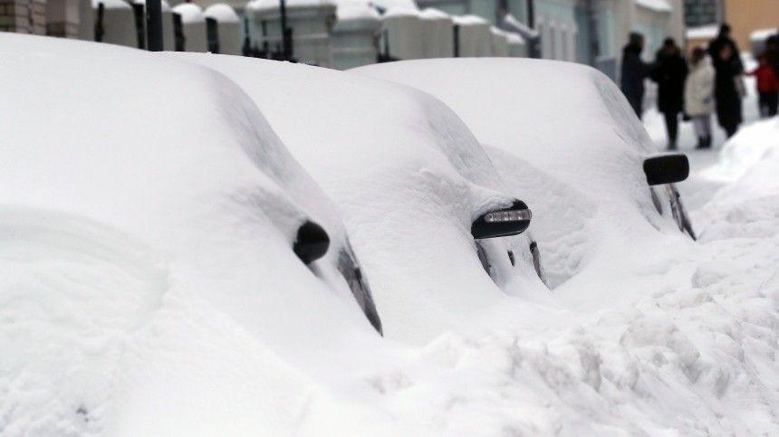 В Москве установлен исторический рекорд по количеству снега за…