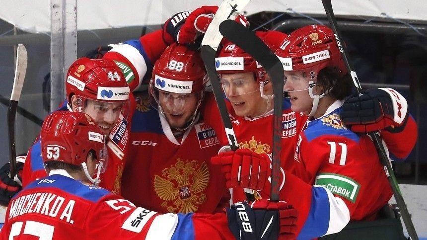 Результатом довольны  сборная России в девятый раз выиграла…