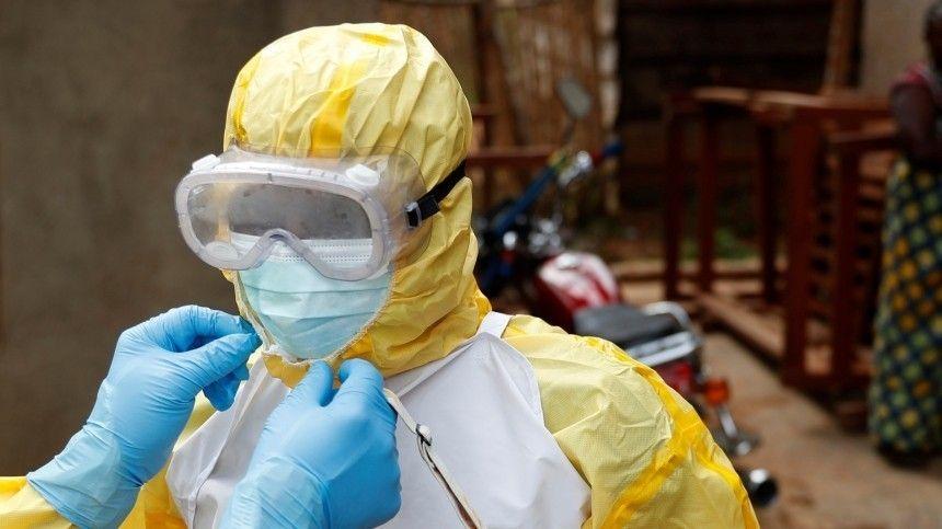 Вспышка лихорадки Эбола зафиксирована в…