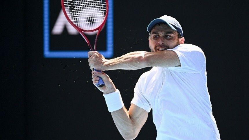 Назван соперник россиянина Аслана Карацева в полуфинале Australian…