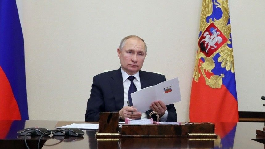 Основные тезисы встречи Владимира Путина с главами фракций в…