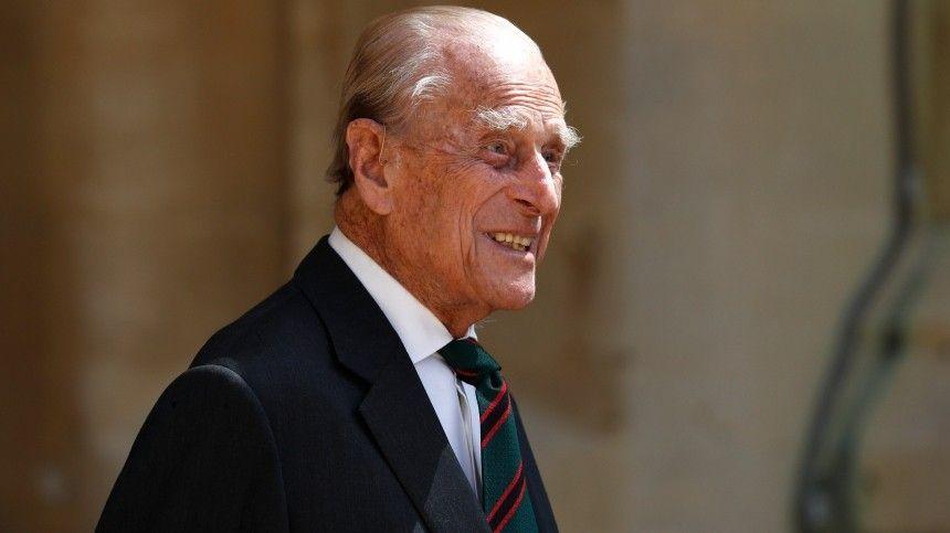 Супруг королевы Великобритании  -летний Филипп…