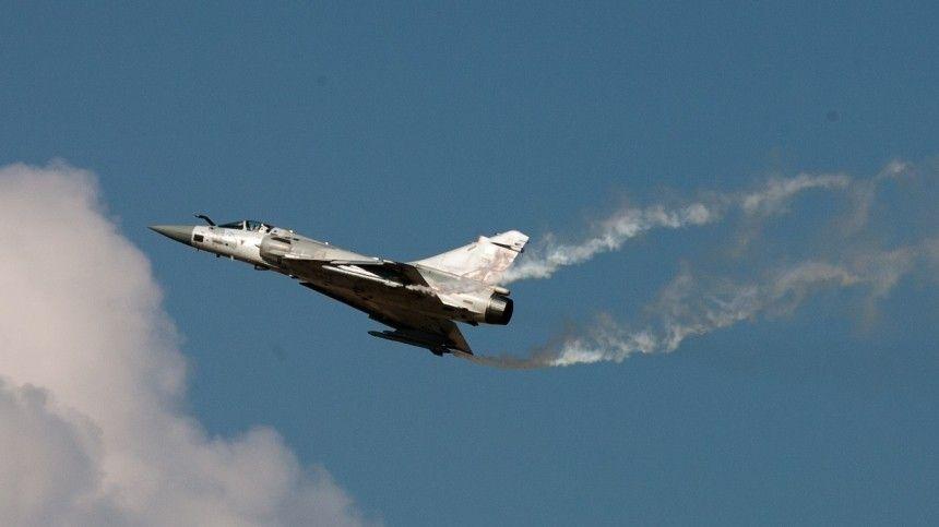 Истребители Су-  сопроводили группу самолетов ВВС Франции над Черным…