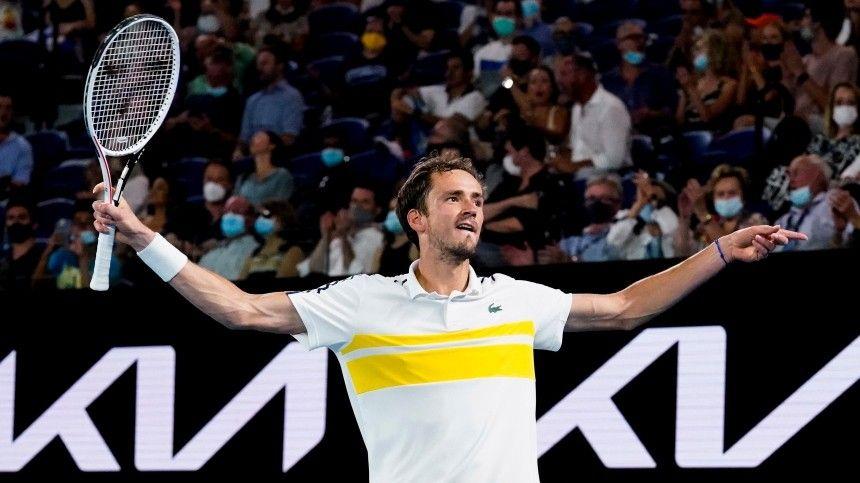 Россиянин Даниил Медведев вышел в финал Australian…