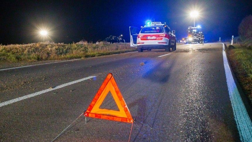 Шестеро россиян получили травмы в ДТП с автобусом в…