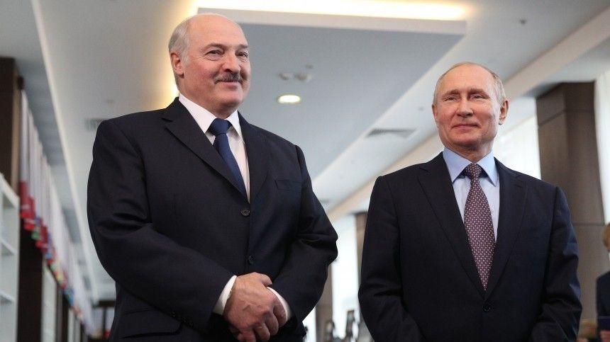 Место встречи  Сочи. Путин и Лукашенко проведут переговоры …