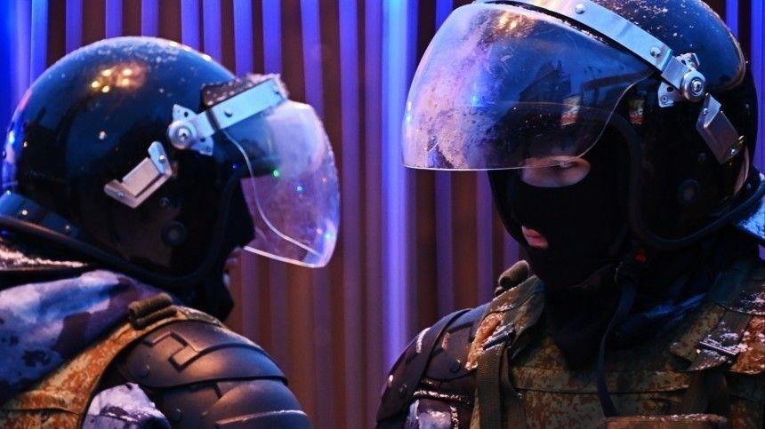 СК возбудил дело за избиение омоновца на незаконной акции в…