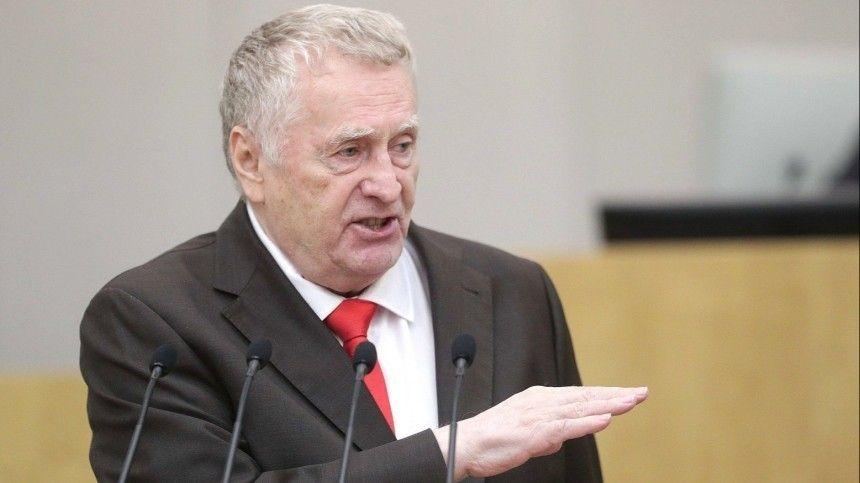 Жириновский передумал ограничивать вес…