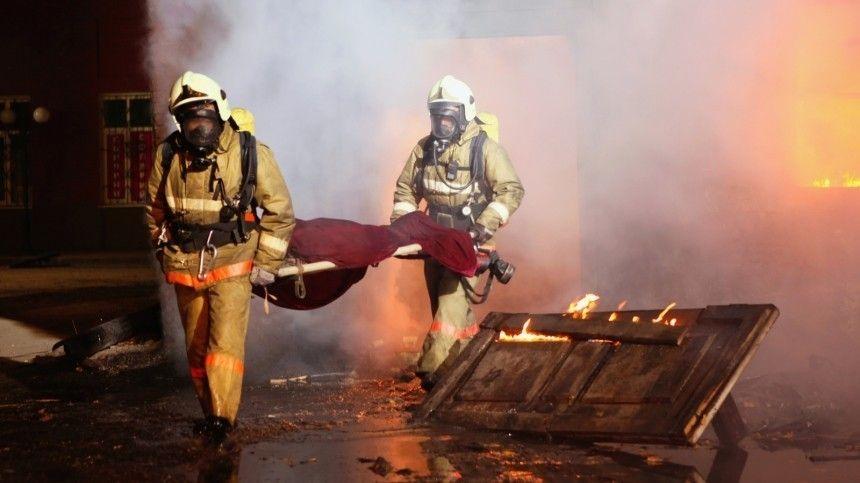 Тела четырех человек нашли в сгоревшем дотла доме в…