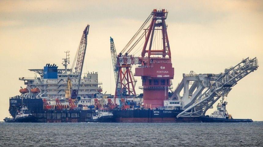 США ввели санкции против укладчика труб  Северного потока  …