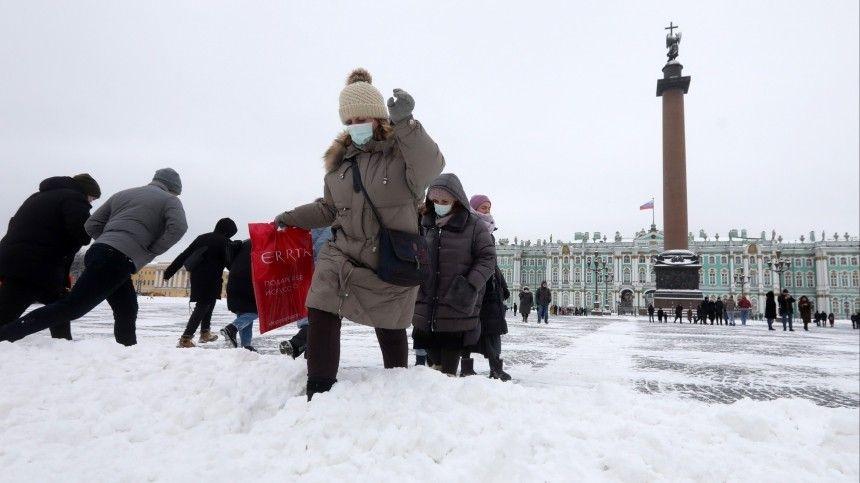 Метель на праздник: петербуржцев предупредили о сильном снегопаде …
