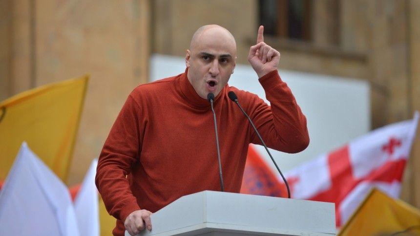 Задержан возглавлявший партию Саакашвили оппозиционер Мелия  эксклюзивное…