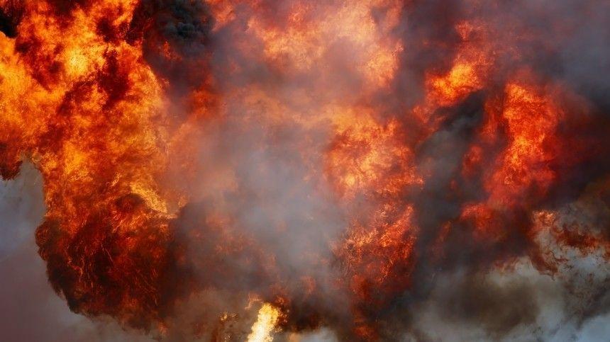 Взрыв прогремел на газопроводе под Оренбургом