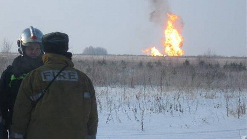 Режим ЧС введен в районе прорыва газопровода под…