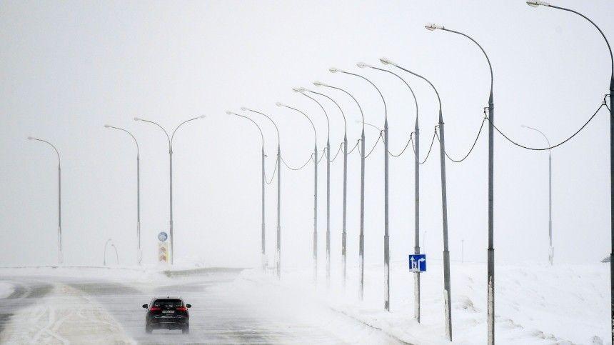 Режим ЧС введен в трех районах Челябинской области из-за морозов и метели