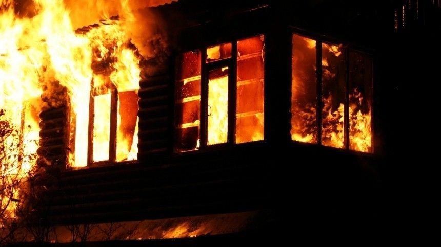 Инспекторы ДПС спасли пятерых детей из горящего дома под Челябинском …